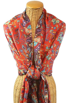 Floral/Paisley Scarf