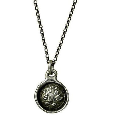 Wax Seal Pendant Necklace
