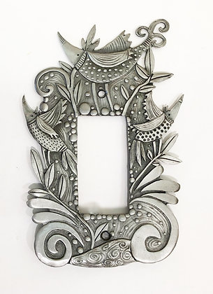 Whimsical Bird Switchplate