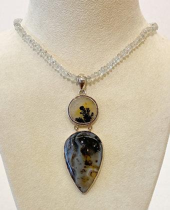 Dendrite Pendant Necklace
