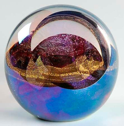 Glass Planetary or Celestial Paperweight