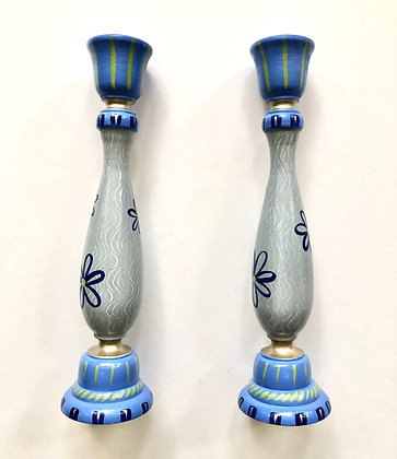 Hand Painted Candlesticks