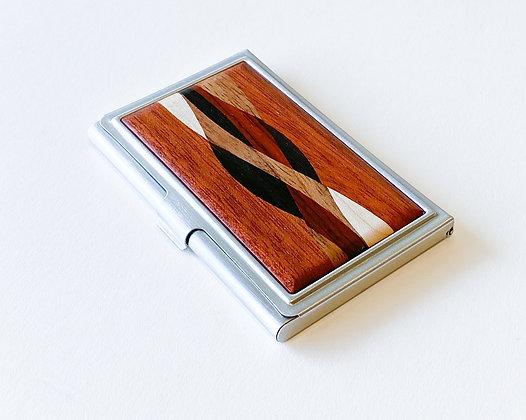 Inlaid Business Card Case