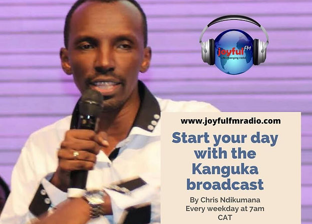 Joyful FM, Chris Ndikumana with Kanguka