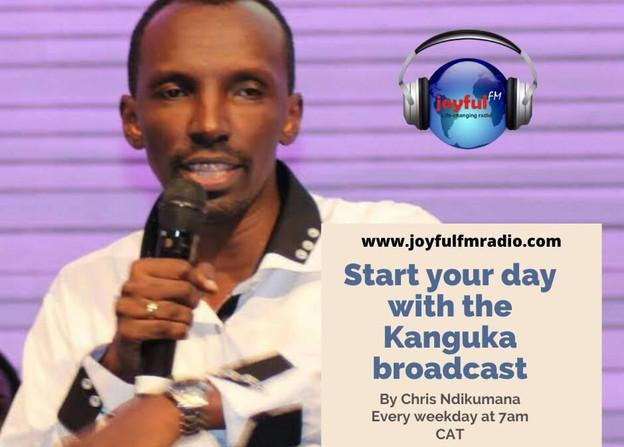 Joyful FM, Chris Ndikumana with Kanguka