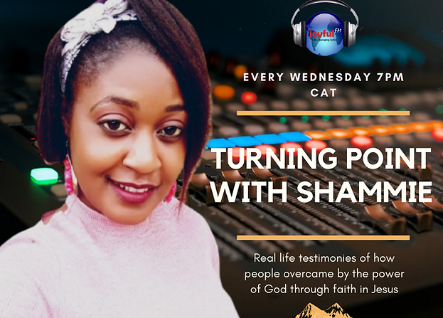 Shammie Gauti, Shammie Phiri  onJoyful FM, Turning Point with Shammie