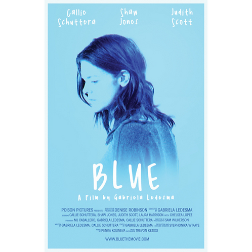 BLUE Movie Poster (11X17in)