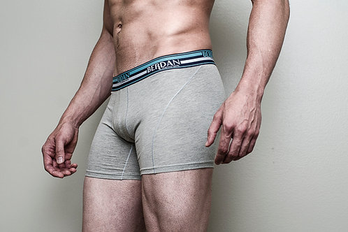 BREATHABLE HEATHER BOXER BRIEF