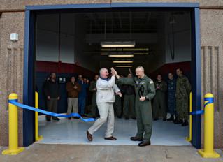 "TACAMO New Maintenance Hangar ""Ribbon Cutting"""