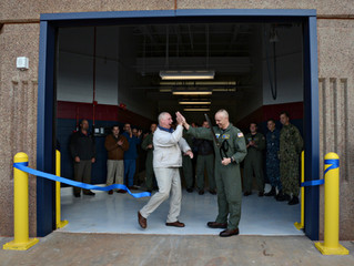 "TACAMO New Maintenance Hangar ""Ribbon Cutting"""