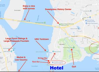 Charleston Harbor Resort Transportation