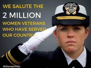 Veterans Day Salute to the Woman Veterans