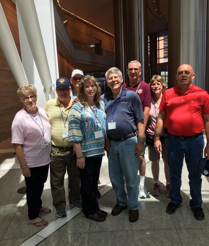 Reunion Group at Devon tower