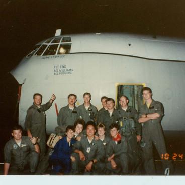 Last Herc to Leave VQ-3 LT Pete Lee-Lt D