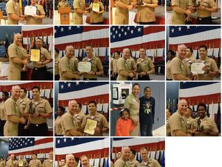 VQ-7 Roughnecks Yearly Award Winners