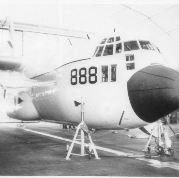 C18.2 151888 EC-130G on Jacks VQ-4 1982.