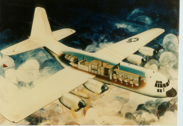 C5 TACAMO IVB Artists Rendering 1974 by