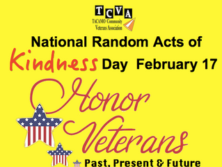 Honor Veterans on National Random Acts of Kindness Day