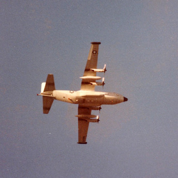 Herc Fly Over VQ-3 1984 Tree Clemens col