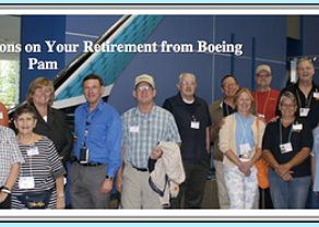 Pam Vaughn Valdez, VQ-4 Veteran Retires From Boeing after 42 years