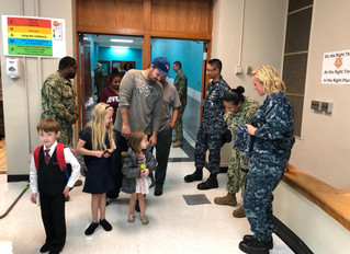 US Navy Adopts Our School