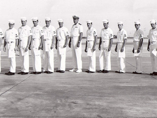 Commander Ed Preston the first CO of VQ-3, 50 years ago on July 1st