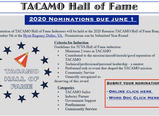 TACAMO Hall of Fame Nominations