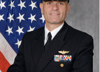 TCVA Welcomes Captain Mike Black as 17thCommodore of Strategic Communications Wing ONE Task Force 1