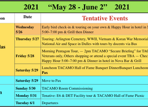 NEW Dates for 2020 TACAMO Reunion