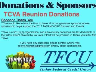 2017 TACAMO Reunion Sponsors