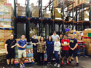 VQ-4 CSADD helped prepare 14,833 meals to be distributed throughout the 77 counties of Oklahoma next