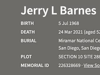 TACAMO Fallen Veteran - Jerry L Barnes, VQ-3