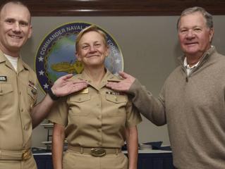 Congratulations TACAMO Sailor, Vice Adm. Nora Tyson