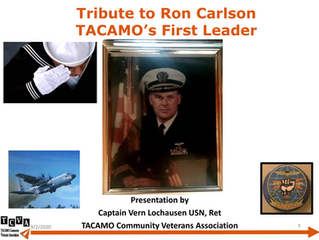Tribute to Ron Carlson, TACAMO's First Leader