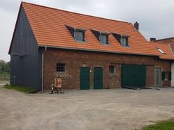 Bauernhof Scheunentor