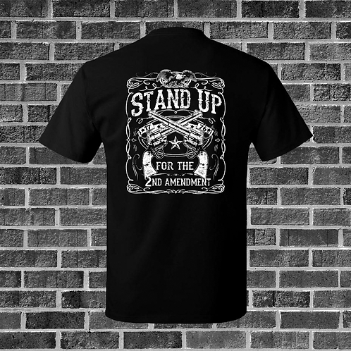 Stand Up For The Second Amendment T-Shirt