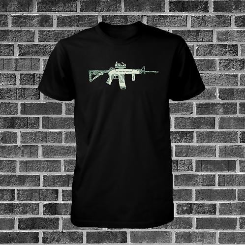 AR-15 Money T-Shirt