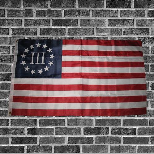 Threeper Flag 3ft x 5ft