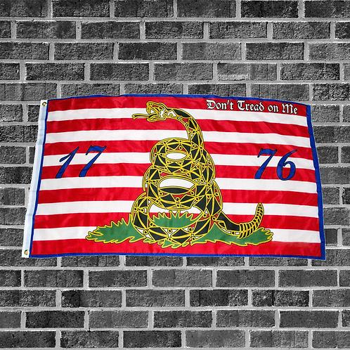 1776 Don't Tread On Me 3ft x 5ft Flag
