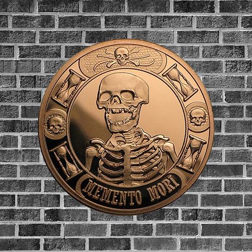 Memento Mori 1 Ounce Copper Coin