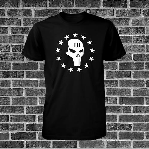 Threeper Skull T-Shirt