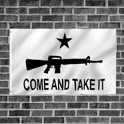Come And Take It AR-15 3ft x 5ft Flag