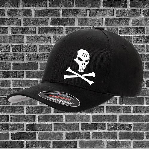 Skull and Crossbones Flextfit Hat