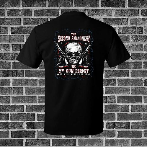 Second Amendment Is My Gun Permit T-Shirt