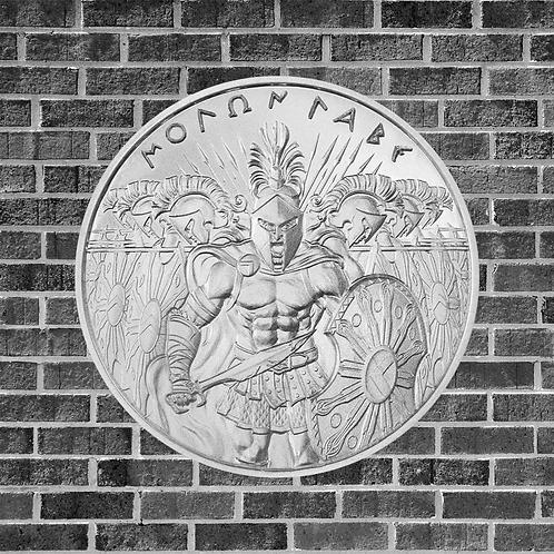 1 Ounce Silver Molon Labe Coin