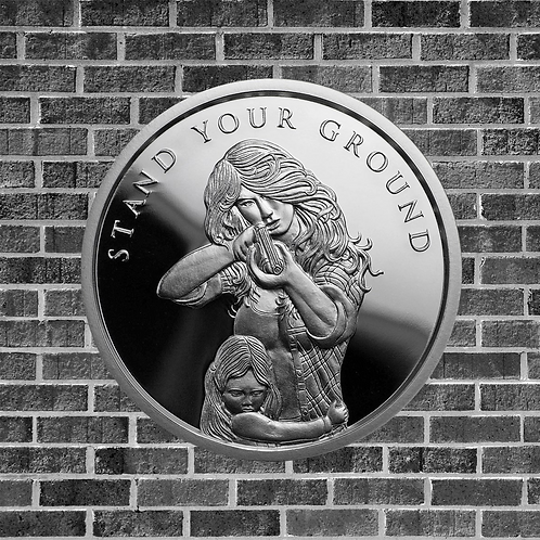 1 Ounce Silver Stand Your Ground Coin