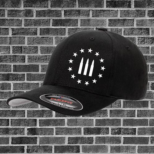 Threepercenter Bullet Flextfit Hat