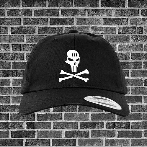 Threeper Skull and Bones Classic Dad Hat