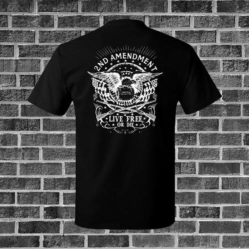 2nd Amendment Live Free Or Die T-Shirt