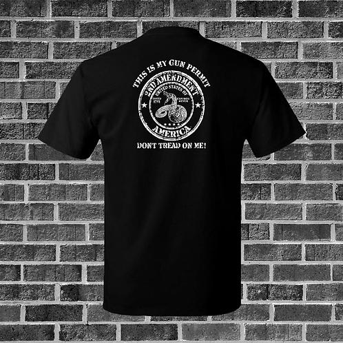 This Is My Gun Permit T-Shirt